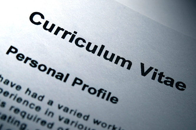 How to write an application letter with a cv